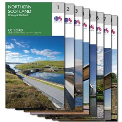 Ordnance Survey Folded Road Map